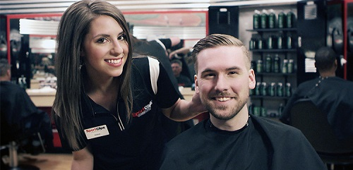 Sport Clips Haircuts of City Centre of Avon​ stylist hair cut